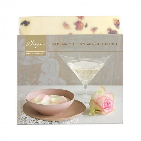 Bio Weiss Marc de Champagne-Rose gefüllt