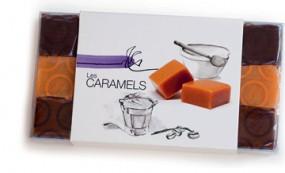 Caramels lait cru assortis