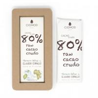Cacao Crudo 80% | Ciomod & Corallo
