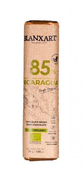 Nicaragua 85% Chocolate negro eco
