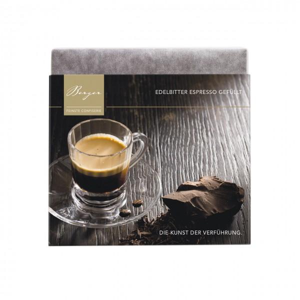 Edelbitter Espresso gefüllt