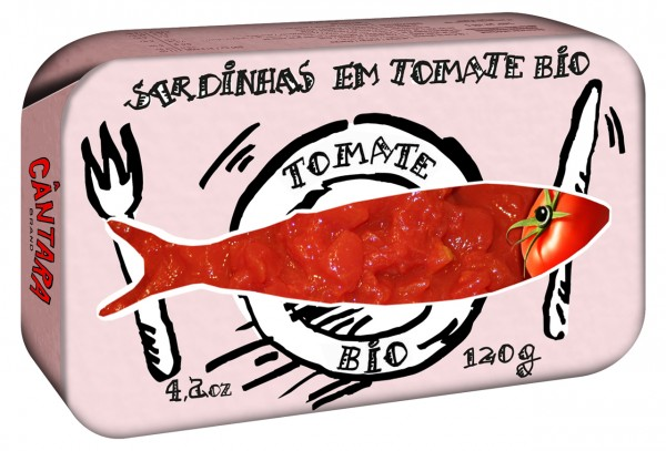 Sardinhas em Tomate Organic