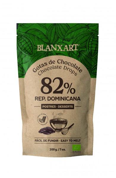 Gotas de Chocolate 82 % Rep. Dominicana