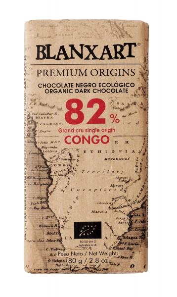 Chocolate negro ecológico 82 % Congo