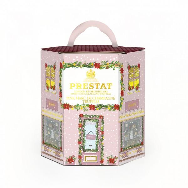 Festive House Collection Pink Marc de Champagne Truffles