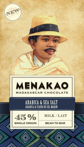 Arabica & Sea Salt Milk Chocolate 45 %