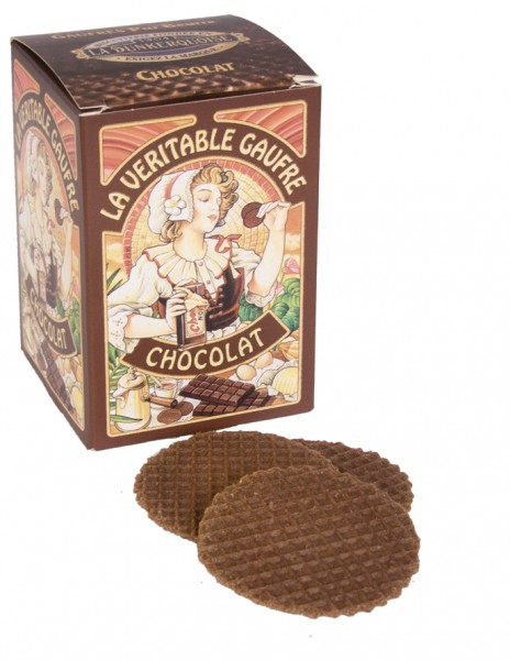 La veritable gaufre Chocolat