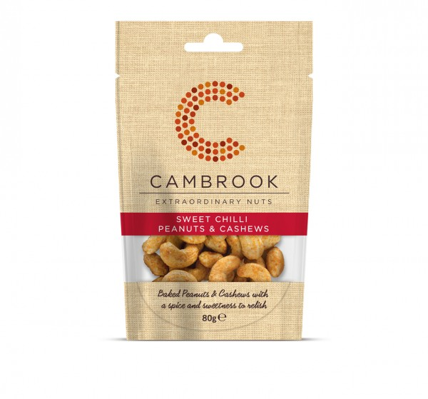 Brilliantly Baked Sweet Chilli Peanuts & Cashews| 80 g