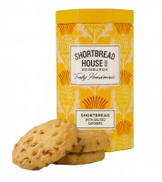 Octagonal Tins Shortbread Biscuits with salted caramel