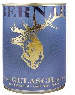 Südtiroler Hirschgulasch