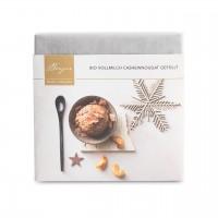 Bio Vollmilchschokolade Cashew-Nougat gefüllt
