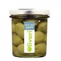 Olive verde al naturale