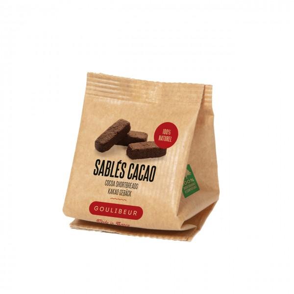 Sablés en vrac Cacao extra brût - 30g