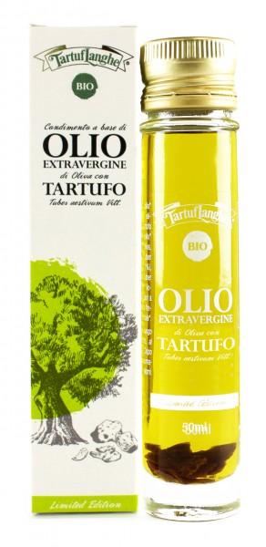 Olio con tartufo d'estate biologico