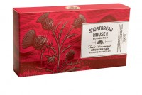 Shortbread with rich dark chocolate