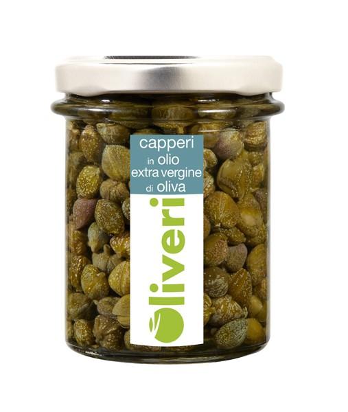 Capperi in Olio extra vergine di oliva