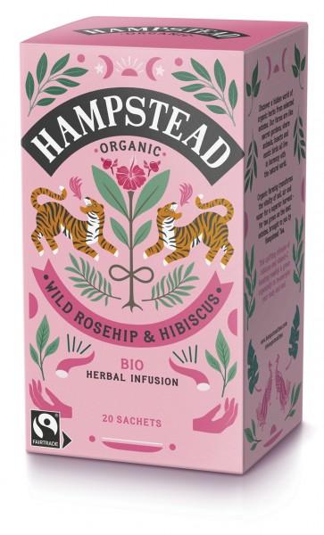 Organic Wild Rosehip & Hibiscus   Herbal Infusion