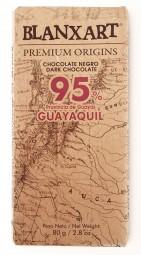 Chocolate negro Guayaquil 95 %