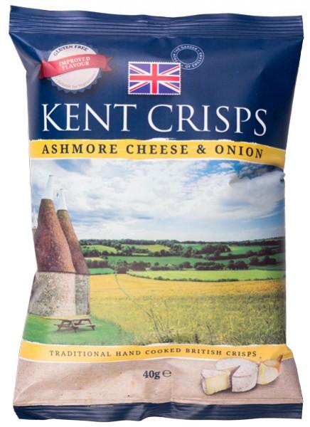 Kent Crips Ashmore Cheese & Onion