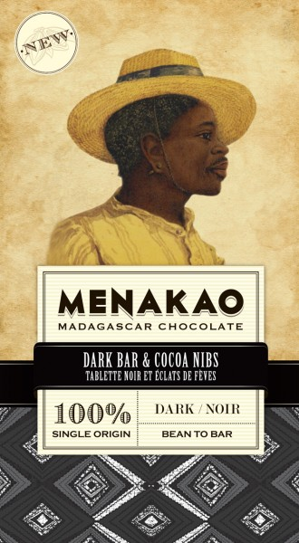 Dark Bar & Cacao Nibs 100%