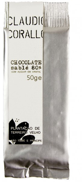 Chocolate sablé 80 %