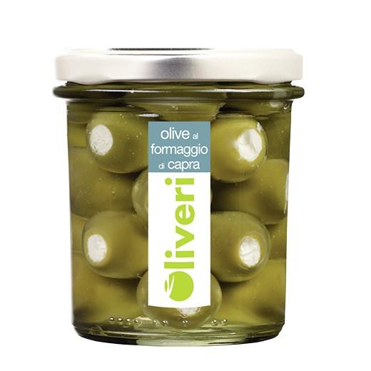 Olive al formaggio di capra