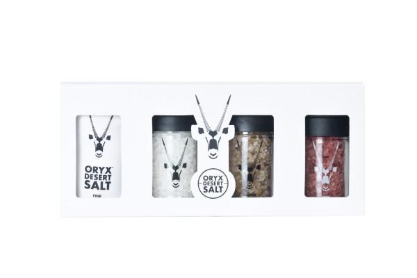 Oryx Desert Smoked & Wine Salts Set