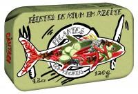 Filetes de Atum em Azeite Picantes com Pickles