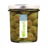 Olive al pomodoro e acciughe