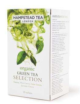Organic Green Tea Selection