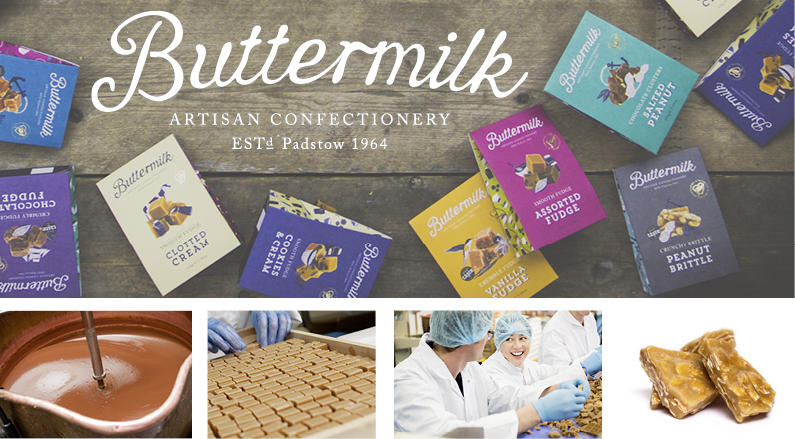Buttermilk-confec