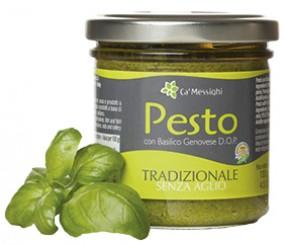 Pesto con Basilico Genovese D.O.P. Tradizionale senza Aglio