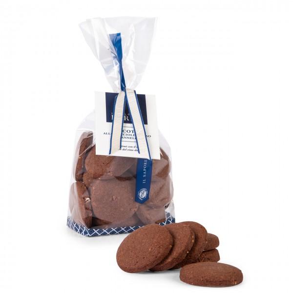 Biscotti alle Nocciole, Cacao e Cannella