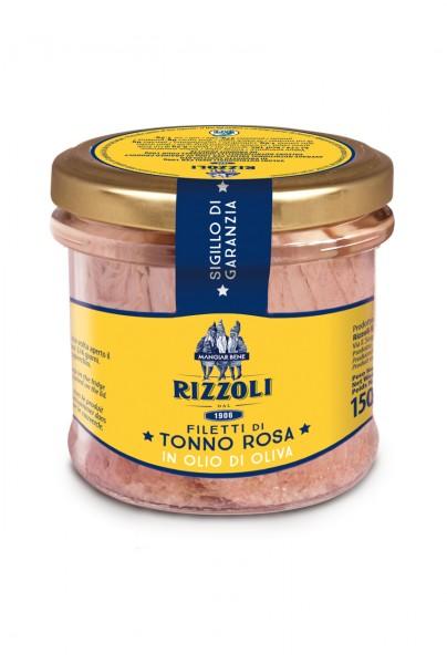 Filetti di Tonno Rosa in olio di oliva
