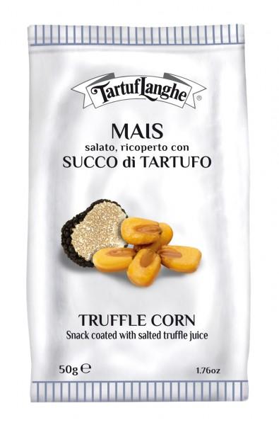 Mais salato, ricoperto con succo di Tartufo