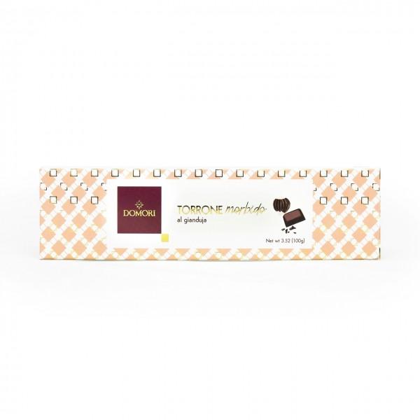 Torrone Friabile ricoperto di Cioccolato Fondente
