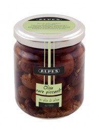 Olive piccantine in olio di oliva