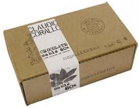Chocolate sablé - Napolitains 80%