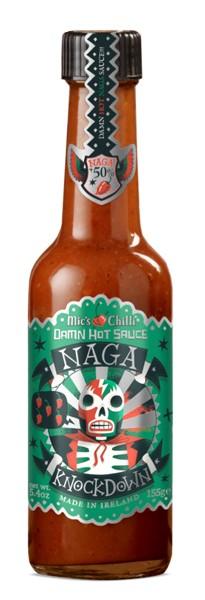 Damn Hot Sauce Naga Knockdown