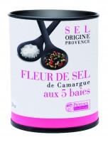 Fleur de Sel de Camargue aux 5 baies