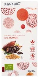 Organic chocolate 70 % with Quinoa