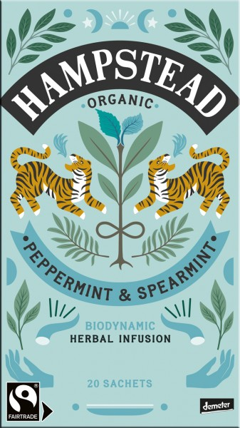 Organic Peppermint & Spearmint | Herbal Infusion