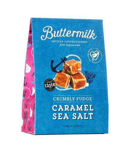 Crumbly Fudge Caramel Sea Salt