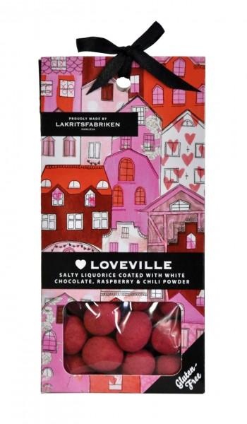 Loveville | Salzige Himbeer-Schokolade-Lakritz
