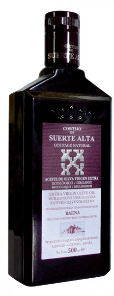 Coupage Natural Aceite de Oliva virgen extra ecologicó
