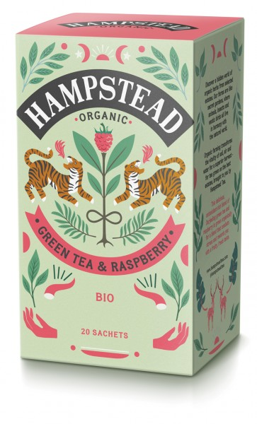 Green Tea & Raspberry | Bio-Grüntee Himbeere