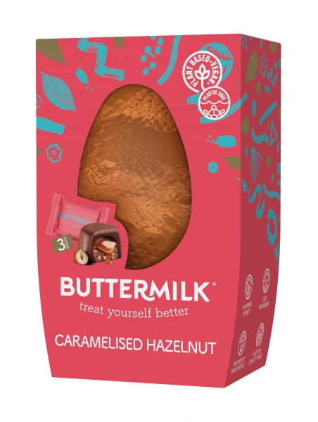 Hazelnut Caramelised Easter Egg
