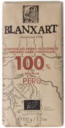 Chocolate negro ecológico 100 % Peru