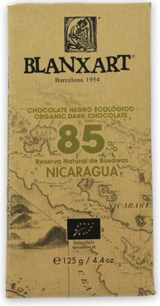 Chocolate ecológico negro Nicaragua 85 %