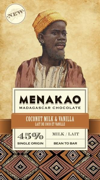 Coconut Milk & Vanilla Milk Chocolate 45 %
